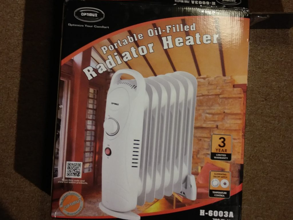 safe electric space heater mini sized