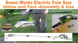Electric power tool for property maintenance